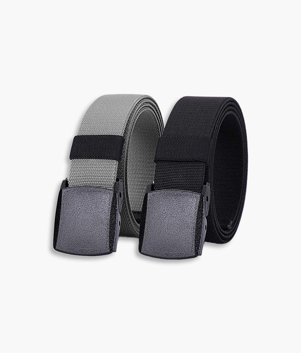 Mens Nylon Belt 51 inch Elastic Stretch